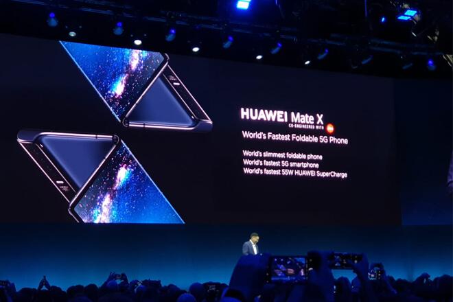 Huawei Mate X móvil plegable