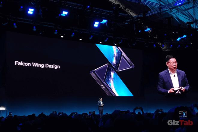 Huawei Mate X, así es el móvil plegable de Huawei