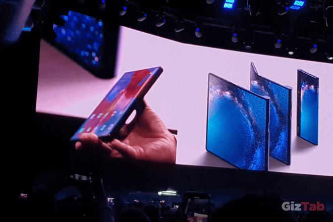 Huawei Mate X, plegable