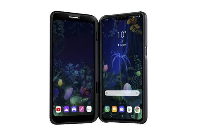 LG V50 Thinq, características y precio del móvil plegable (casi) de LG