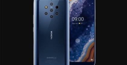 Características del Nokia 9 PureView