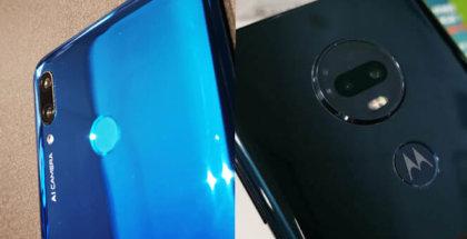 Comparativa Moto G7 plus vs Huawei P Smart 2019 para saber cuál es mejor comprar