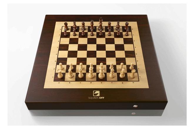 Mira este curioso juego de ajedrez robótico al mejor estilo de Harry Potter