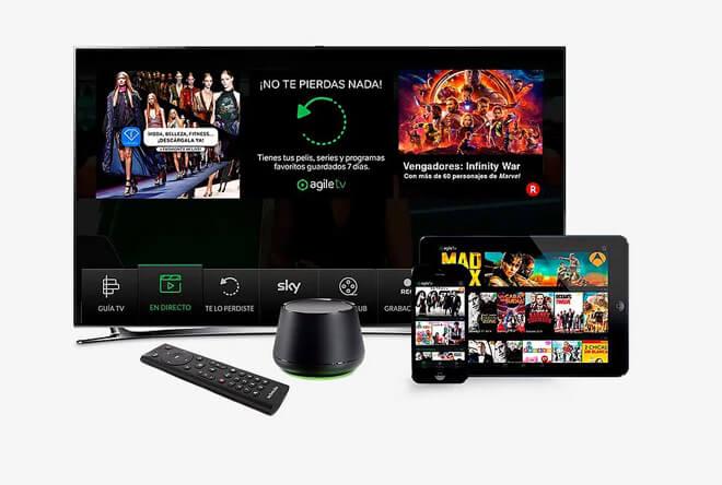 Agile TV, todo sobre la oferta de TV de Yoigo (Canales, series y opiniones)