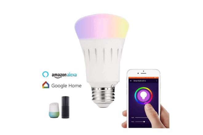 3 bombillas inteligentes por menos de 10 euros compatibles con Alexa y Google Home