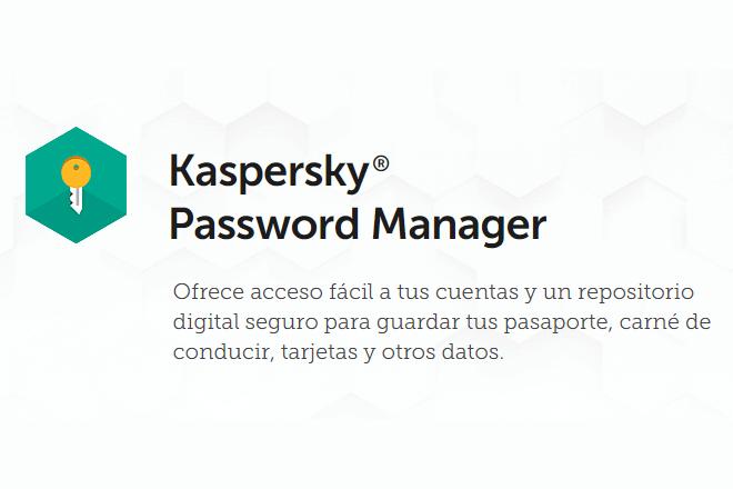 La nueva versión de Kaspersky Password Manager mantiene ordenados los datos digitales valiosos