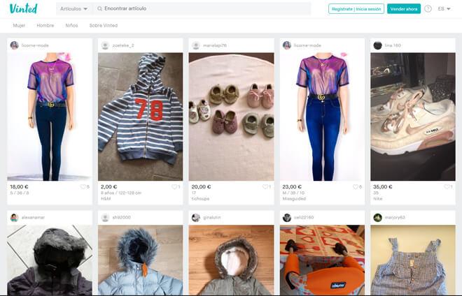 Vinted: cómo funciona la plataforma para vender ropa sin comisiones