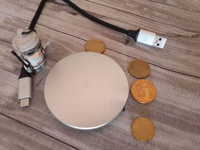 Silicon-Power Bolt B80: ligereza y seguridad en tu bolsillo (opiniones de la SSD portátil)