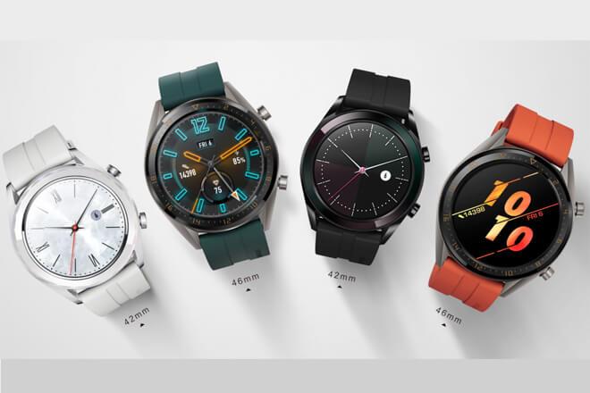 Huawei Watch GT Active Edition y Elegant Edition, características y precio