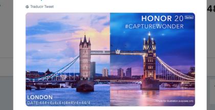 Lanzamiento del honor 20 se espera para el 21 de mayo en Londres