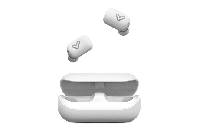 Olvídate de cables y botones con estos auriculares gracias a la tecnología True Wireless Stereo y controla la reproducción con un suave toque sobre el panel táctil