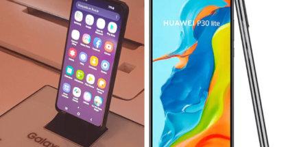 Comparativa del Galaxy S10e Vs Huawei P30 lite