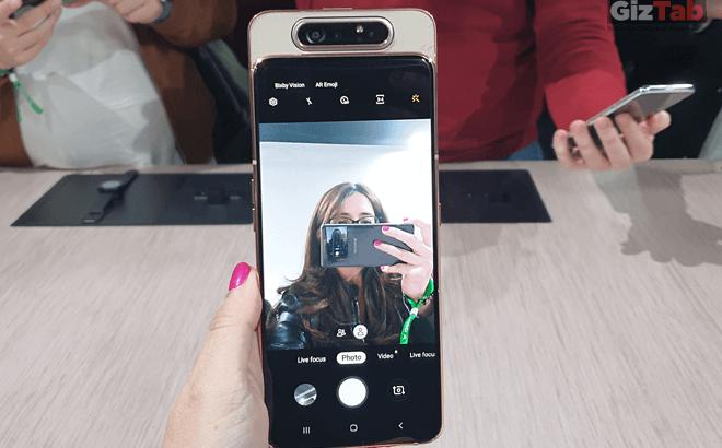 Samsung Galaxy A80, el primer móvil con cámara rotatoria