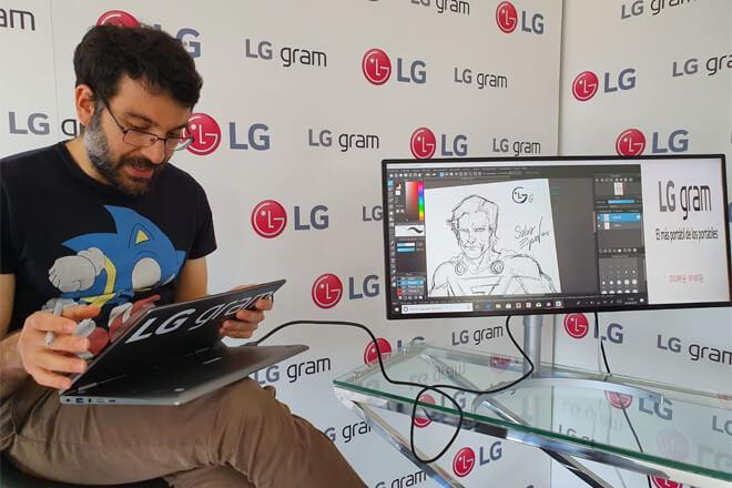 Nuevo LG Gram convertible 2 en 1