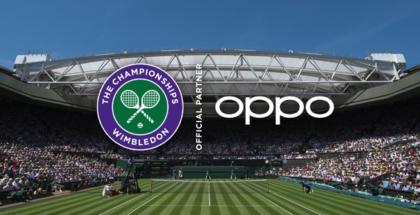 OPPO se complace en anunciar que, a través de su asociación con el All England Lawn Tennis Club (AELTC), se ha convertido en el primer socio oficial de smarthphones y en el primer socio asiático del Campeonato Mundial de tenis Wimbledon