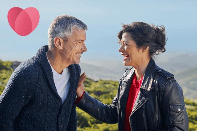 Así funciona Ourtime, la aplicación de citas para mayores de 50 años