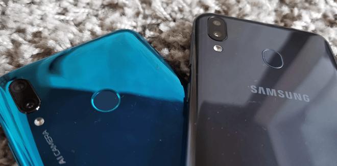 Huawei P Smart 2019 vs Samsung Galaxy M20 comparativa y diferencias