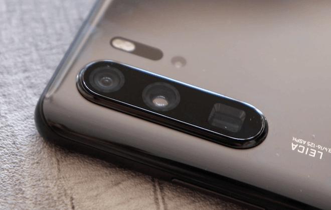 Las lentes del Huawei P30 pro quedan muy sobresalientes