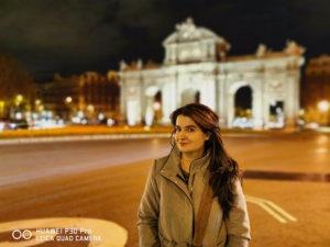 Modo Retrato con el Huawei P30 Pro en la noche