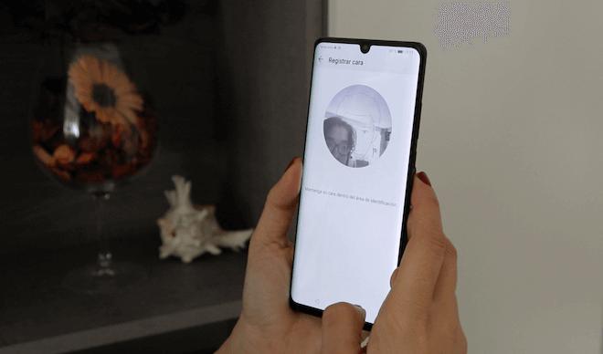 Reconocimiento facial en el Huawei P30 Pro