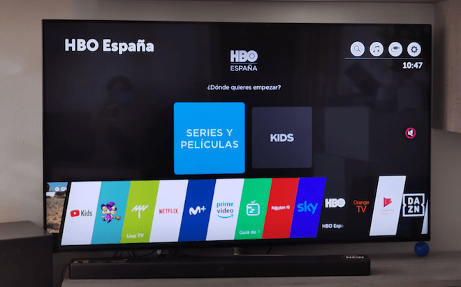 b454a6abc HBO ya disponible en los TV Smart TV de LG - GizTab