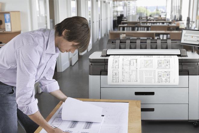 Impresora multifunción HP DesignJet XL 3600 series