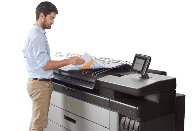 Imprima en blanco y negro y en color con el mismo dispositivo