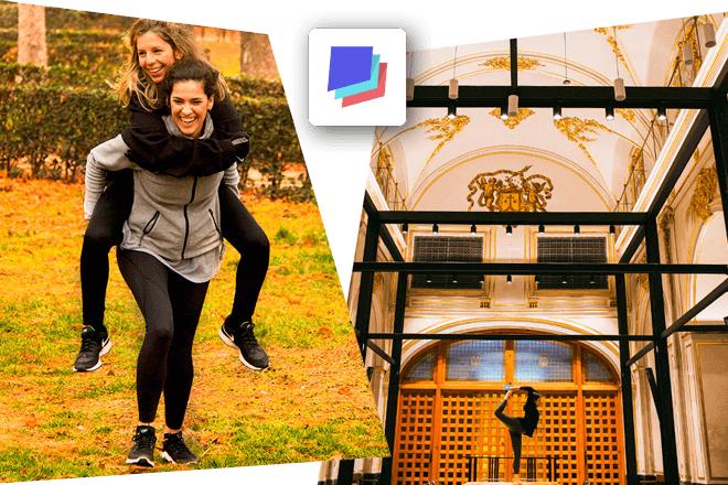 Con la aplicación Spacefit puedes elegir desde tú móvil si quieres realizar yoga, HIIT, training, running, entre otros, de forma ilimitada, en espacios atractivos y diferentes como museos, rooftops y espacios al aire libre con encanto
