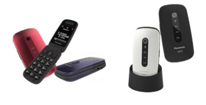 Panasonic ha lanzado dos nuevos teléfonos móviles diseñados para los mayores de la casa, el KX-TU466 y el KX-TU456