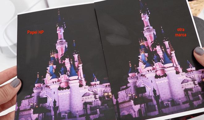 Fotografía impresa con papel fotográfico de HP Vs fotografía impresa con papel de otra marca