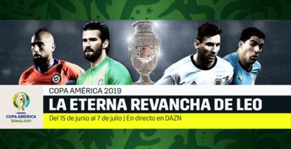 La Copa América 2019 será transmitida en España por DAZN