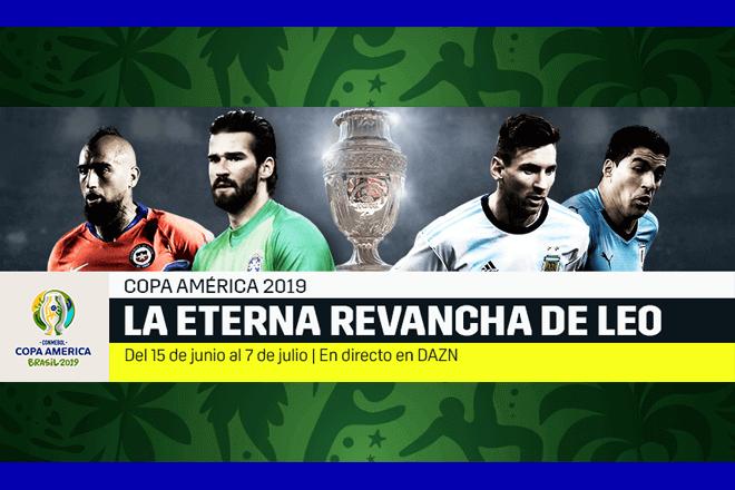 DAZN emite la Copa América 2019 en directo en España