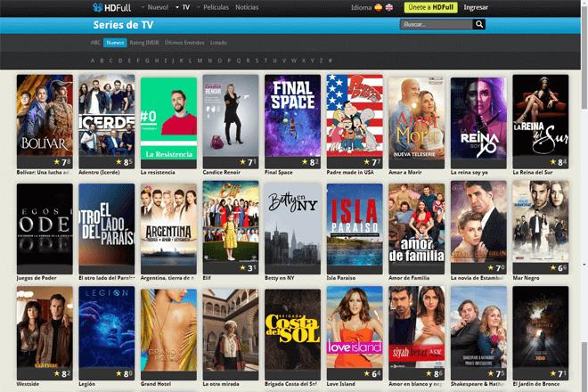 En HD Full como alternativa a Plusdede, podrás encontrar estrenos de series y películas totalmente gratis