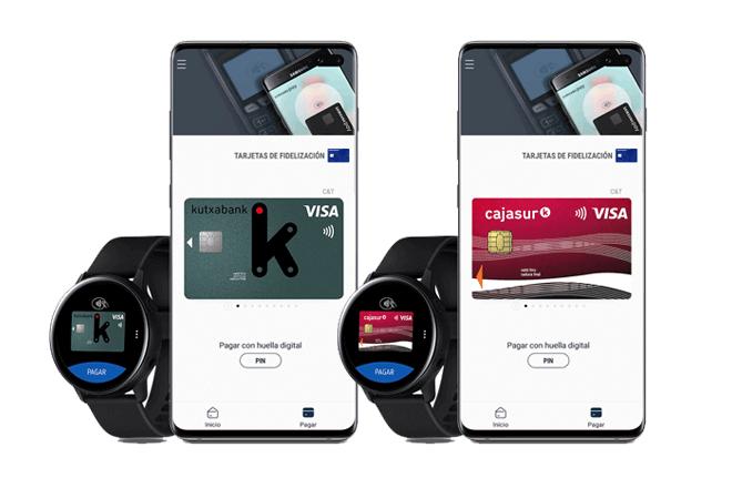 Desde hoy los clientes de la entidad bancaria podrán pagar con su smartphone o smartwatch Samsung