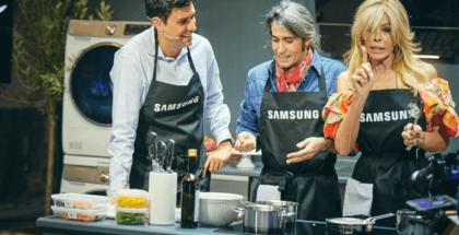 Dentro de las novedades presentadas se encuentra el único horno del mercado con una puerta Flex, para cocinar dos recetas a la vez, y el frigorífico Family Hub, en un paso más hacia la propuesta de Vida Conectada