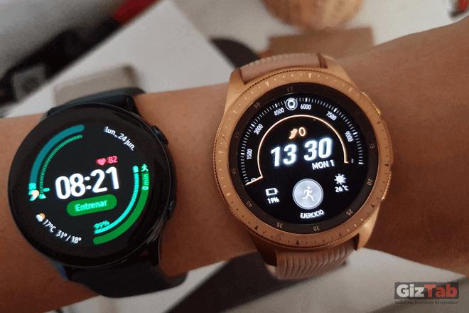 Galaxy Watch Active y Galaxy Watch