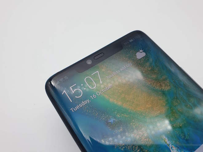 Huawei Mate 30 Pro mantendrá el notch como vimos en el anterior modelo