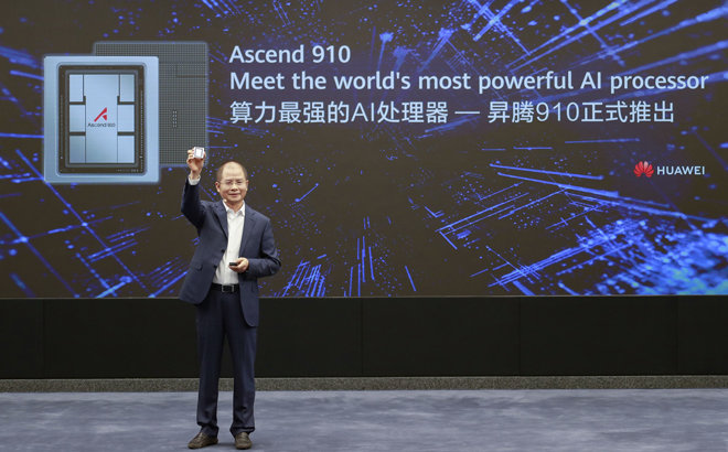 Así es Ascend 910, el nuevo procesador de Huawei