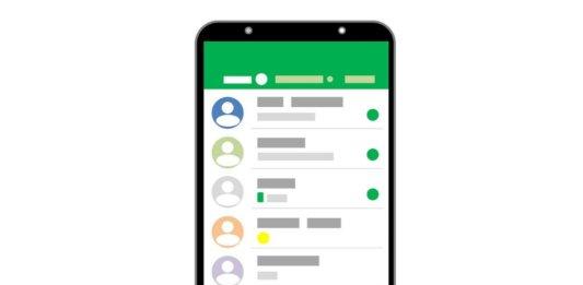 Vector de conversación de whatsapp