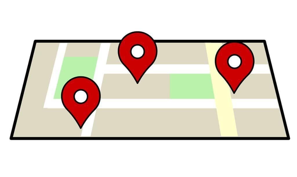 Ilustración de Geolocalizador de Google Maps