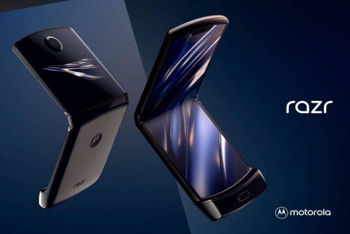 Imagen oficial del Motorola Razr