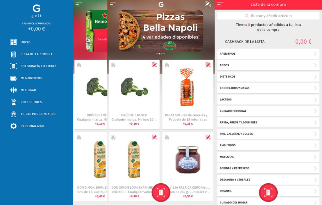 Gelt App sirve para comprar y ganar dinero
