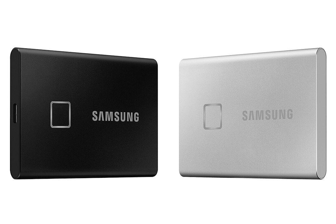 El nuevo dispositivo Samsung SSD T7 touch