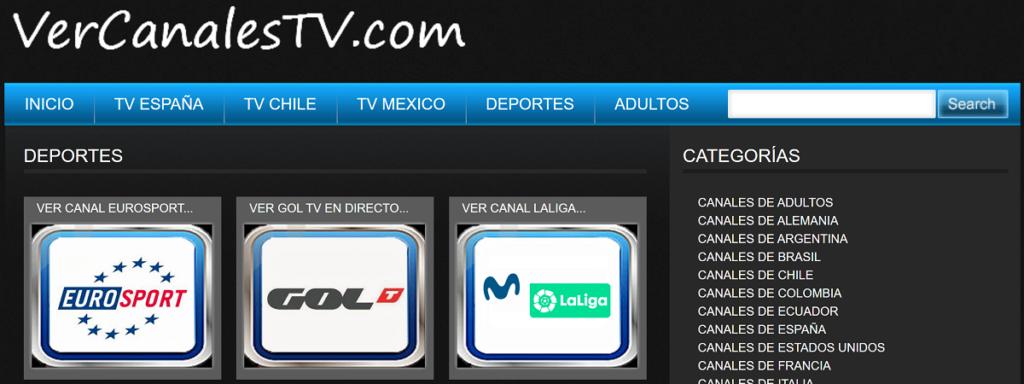 Mucha variedad en VerCanalesTV