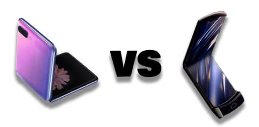Motorola RAZR vs. Samsung Galaxy Z Flip.