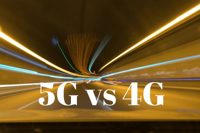 Red 5G vs 4G