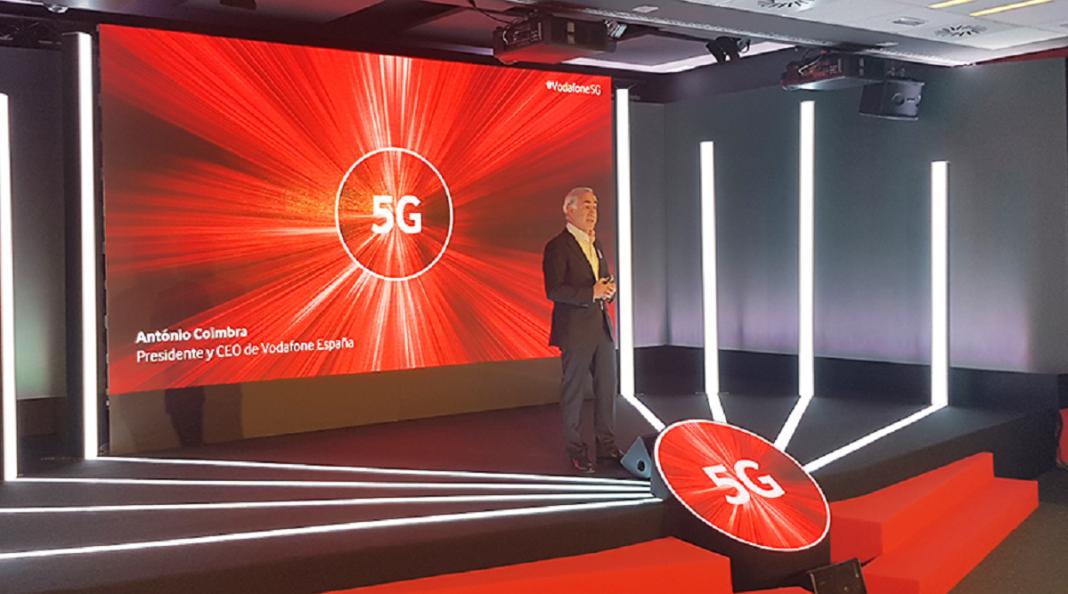 Cobertura 5G de Vodafone