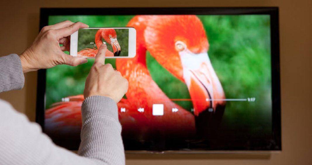 pantalla del movil con chromecast