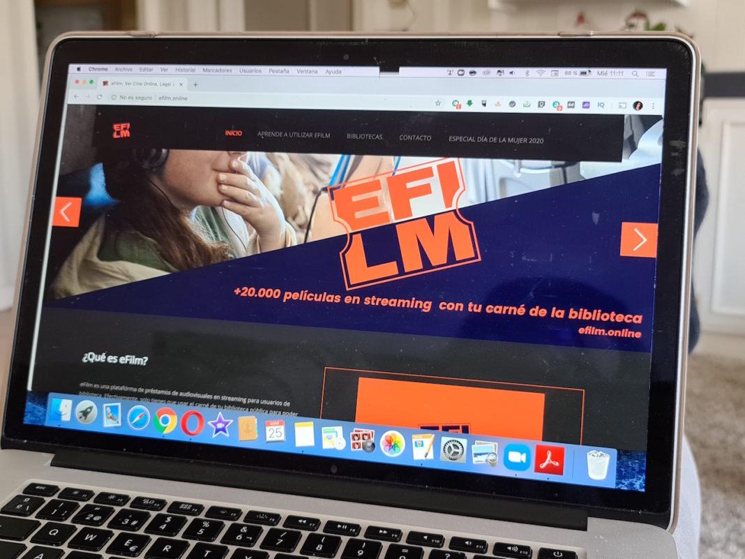 Cómo ver películas en internet gratis y legal con eFilm