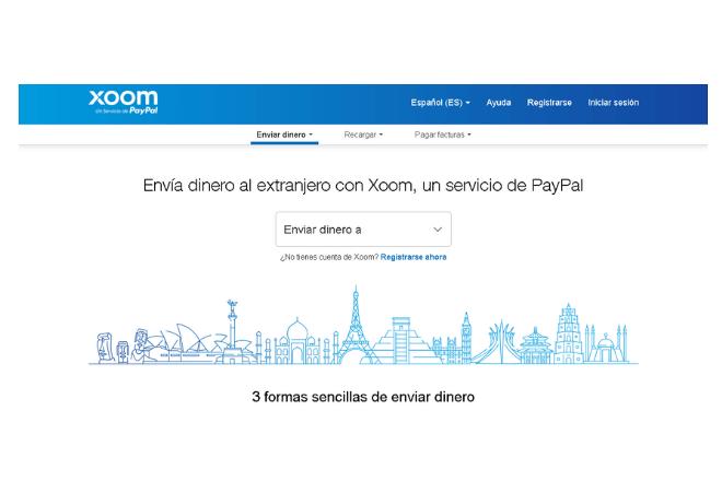 servicio Xoom